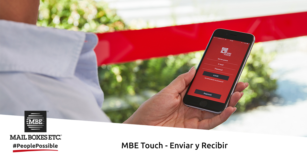 mbe touch app